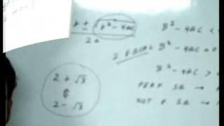 Hindi : Quadratic Equations Basic https://www.youtube.com/w