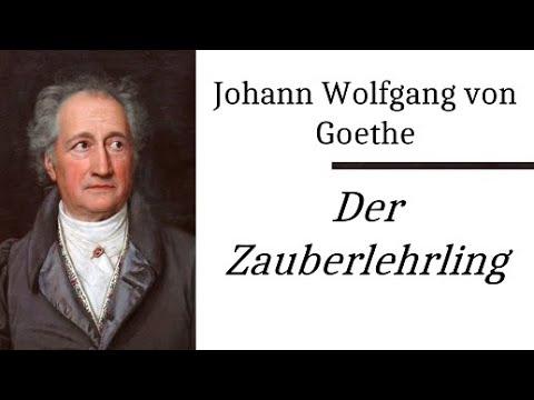 Goethe: Der Zauberlehrling (Ballade der Woche 1) Rezitation mit Text zum Mitlesen