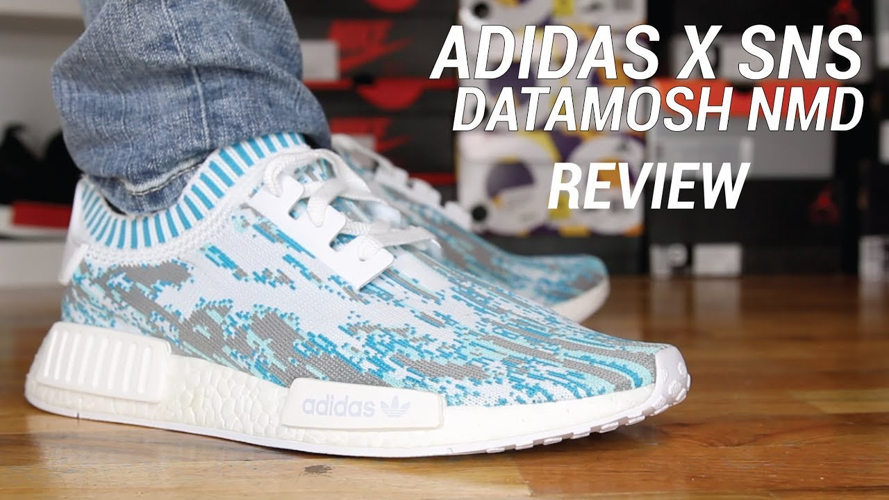 4fffd49a5b51f ADIDAS SNS NMD R1 DATAMOSH REVIEW - YouTube