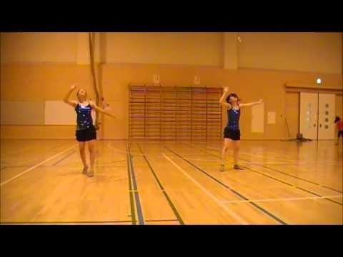 Livin La Vida Loca - Baton Twirling Performance