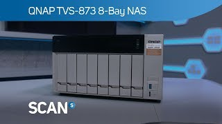 QNAP TVS-873 8 bay NAS with QTS 4.3 - Product overview
