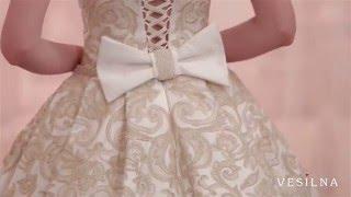 Свадебное платье 2016 года от VESILNA™ модель 3001
