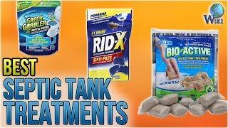 10 Best Septic Tank Treatments 2018
