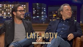 LATE MOTIV - Jose Coronado y Carlos Santos. El hombre de las mil caras  | #LateMotiv124