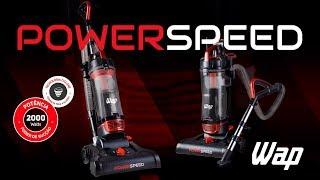 Aspirador de Pó Vertical WAP Power Speed 2000W de Potência