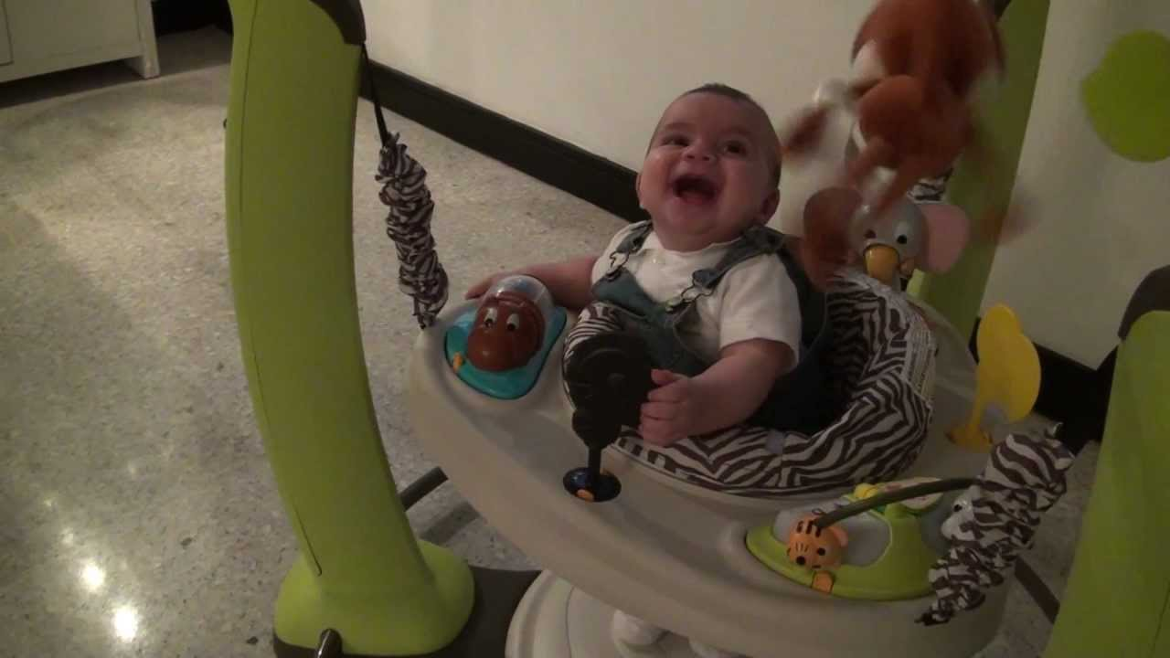Evenflo ExerSaucer Jump and Learn Baby Jumper Review ...