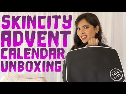 SKINCITY BEAUTY ADVENT CALENDAR 2019 UNBOXING, REVIEW, PRICE BREAKDOWN