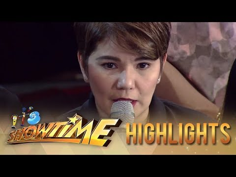 Tyang Amy gets emotional on It's Showtime 2019 Holy Week Special | It's Showtime