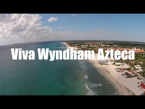 Aerial Views Of Viva Wyndham Azteca Resort In Playa Del Carmen Playacar
