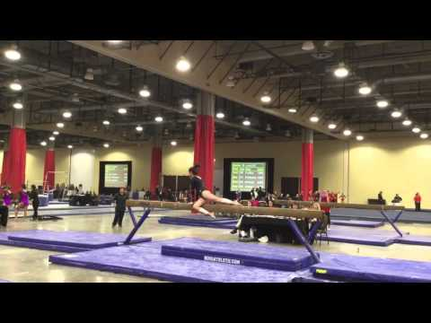 Kurt Thomas invitational beam