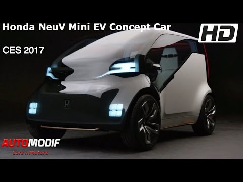 Honda NeuV Mini EV Concept Car CES 2017