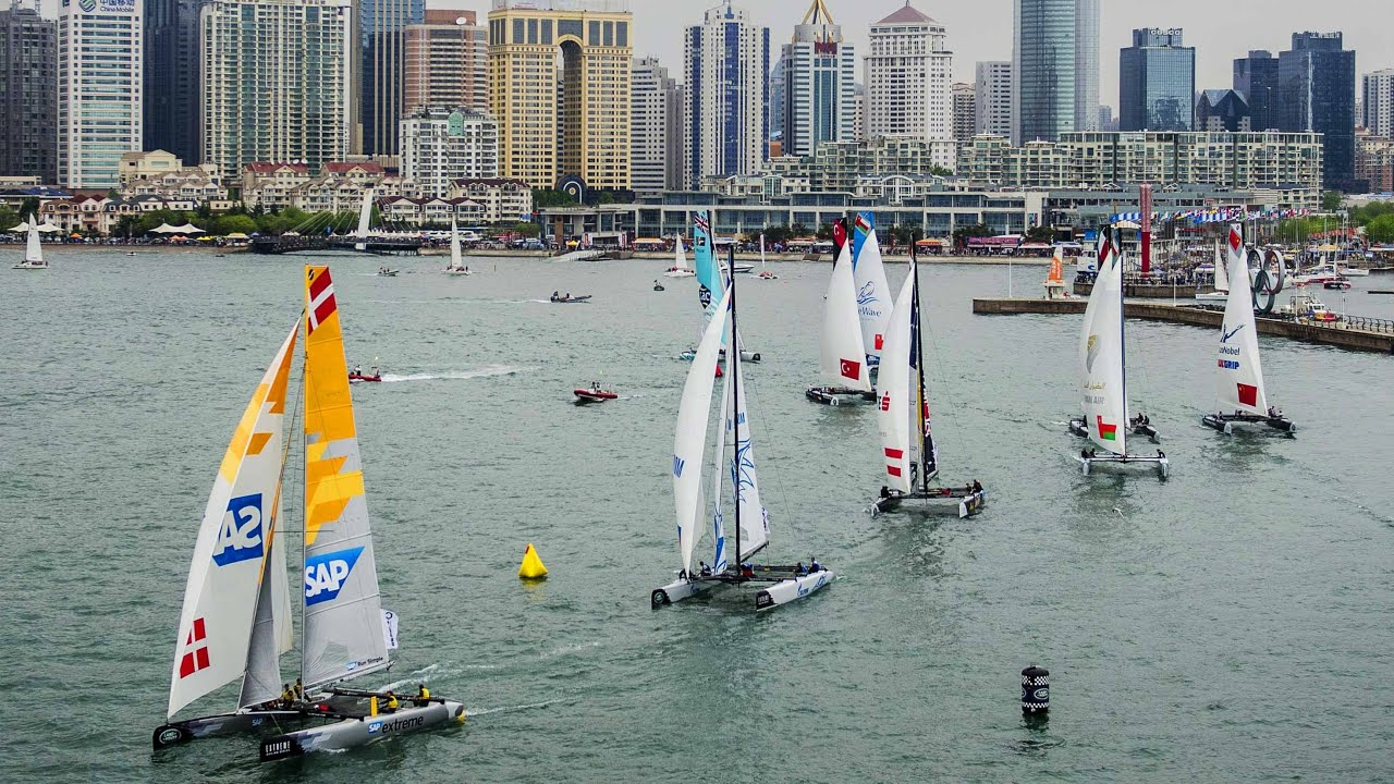 Extreme Sailing Competition in Qingdao