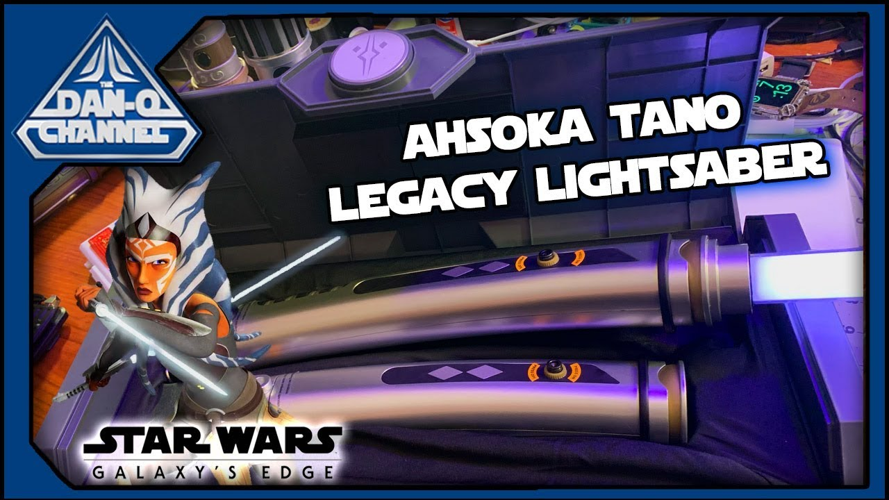 Star Wars Light Up LIGHTSABER ASHOKA 1 LIGHT SABERDISNEY