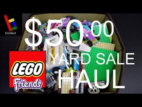 SPENT $50 ON LEGO FRIENDS AT A YARD SALE...let me explain