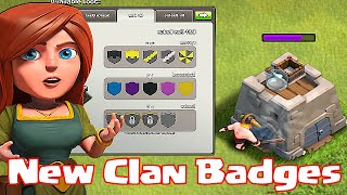 """""""New Clan Badges""""Clash Of Clans NEW UPDATE!! (February)"""