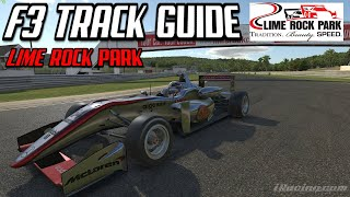 F3 Track Guide @ Lime Rock Park | iRacing | Dallara F3
