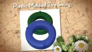Plastic Tire Swing - Component Playgrounds