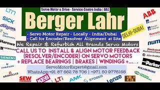 Berger Lahr Servo Motor Repair Encoder Bahrain Kuwait Drive Encoder Stock Repair UAE Dubai Arab Oman