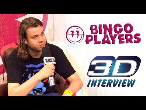 Tomorrowland 3D interview - BINGO PLAYERS (FUN 1 TV)