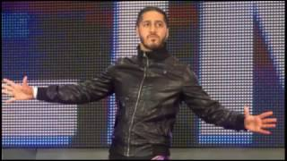 "[with Arena Effect] WWE Mustafa Ali 1st Theme Song ""Go Hard"""