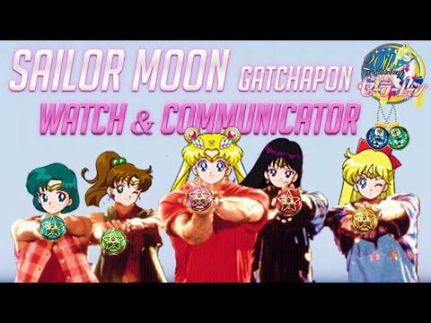 Sailor Moon Watch & Communicator Gashapon toys