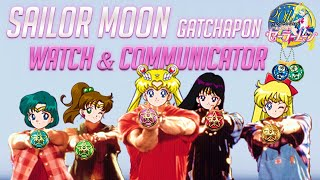 Sailor Moon Watch & Communicator Gashapon Toys セーラームーン