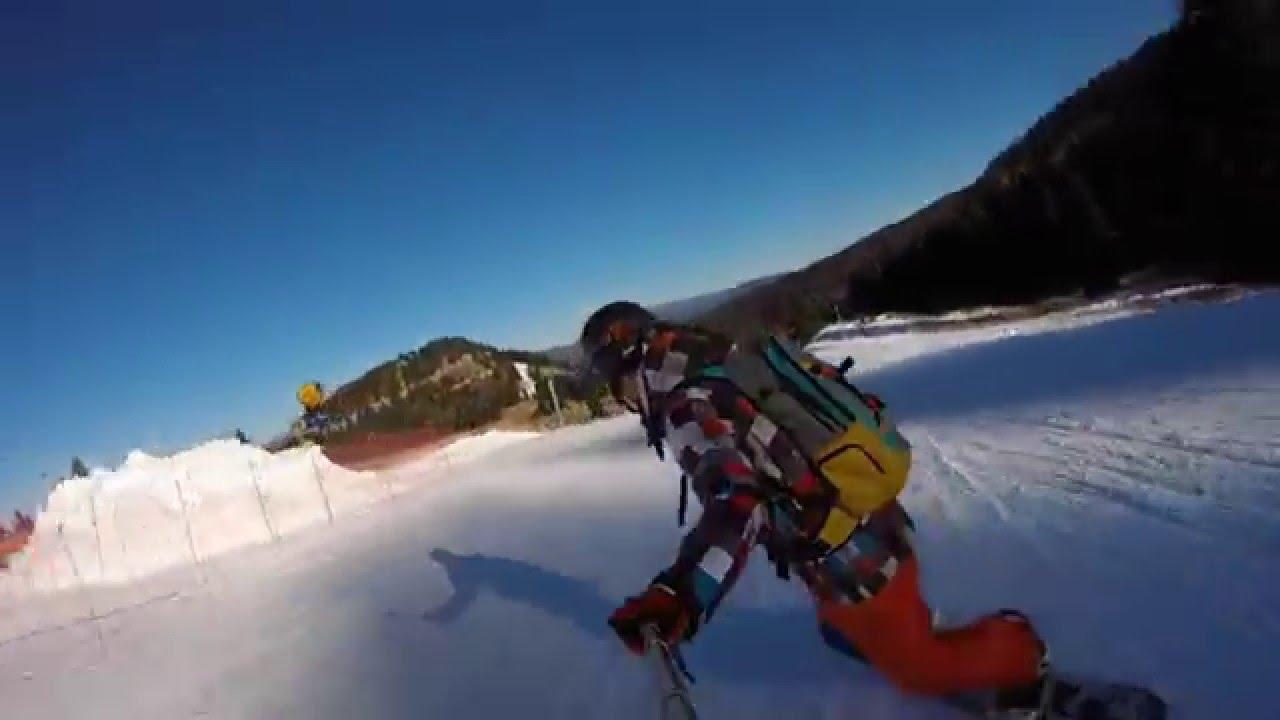 Discesa snowboard passo lanciano!!!!