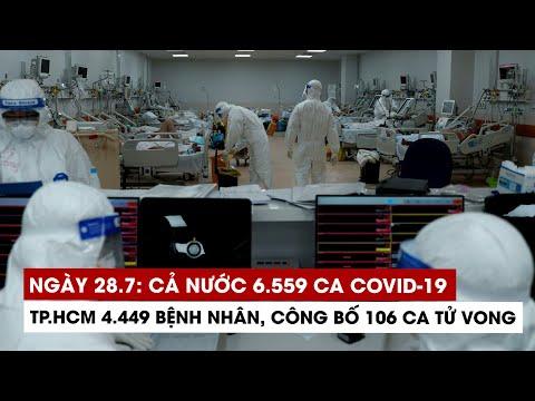 Download Ngày 28/7: Cả nước 6.559 ca Covid-19, 4.511 ca khỏi; riêng TP.HCM 4.449 bệnh nhân
