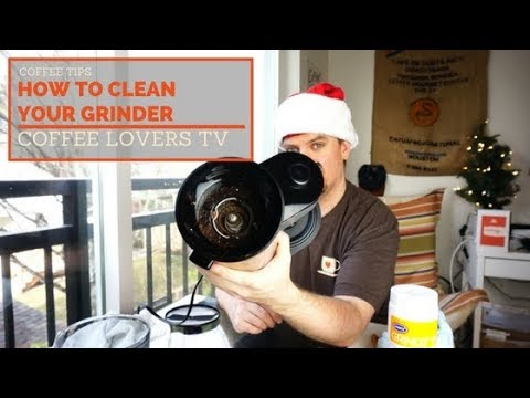 How To Clean Your Coffee Grinder - Featuring the Oxo Barista Brain Grinder