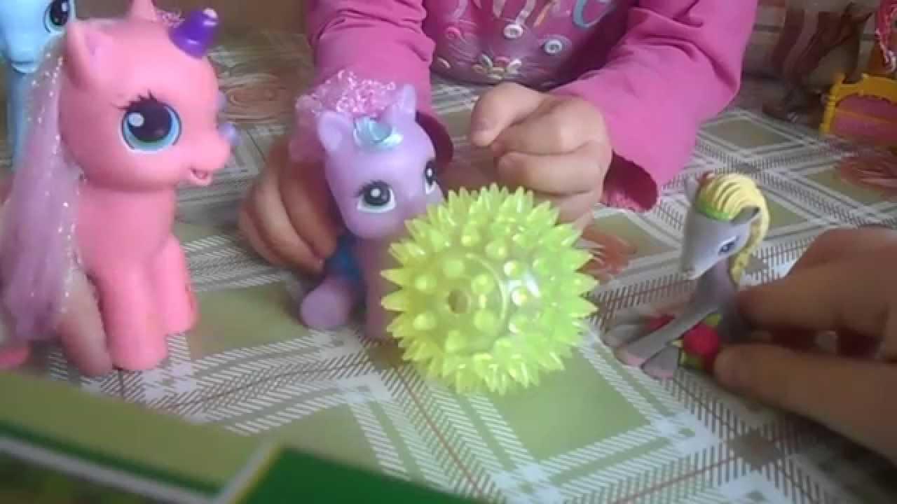 Мой маленький пони видео игрушки видео