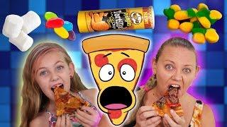 PIZZA CHALLENGE!!! GROSS Secret Recipe!