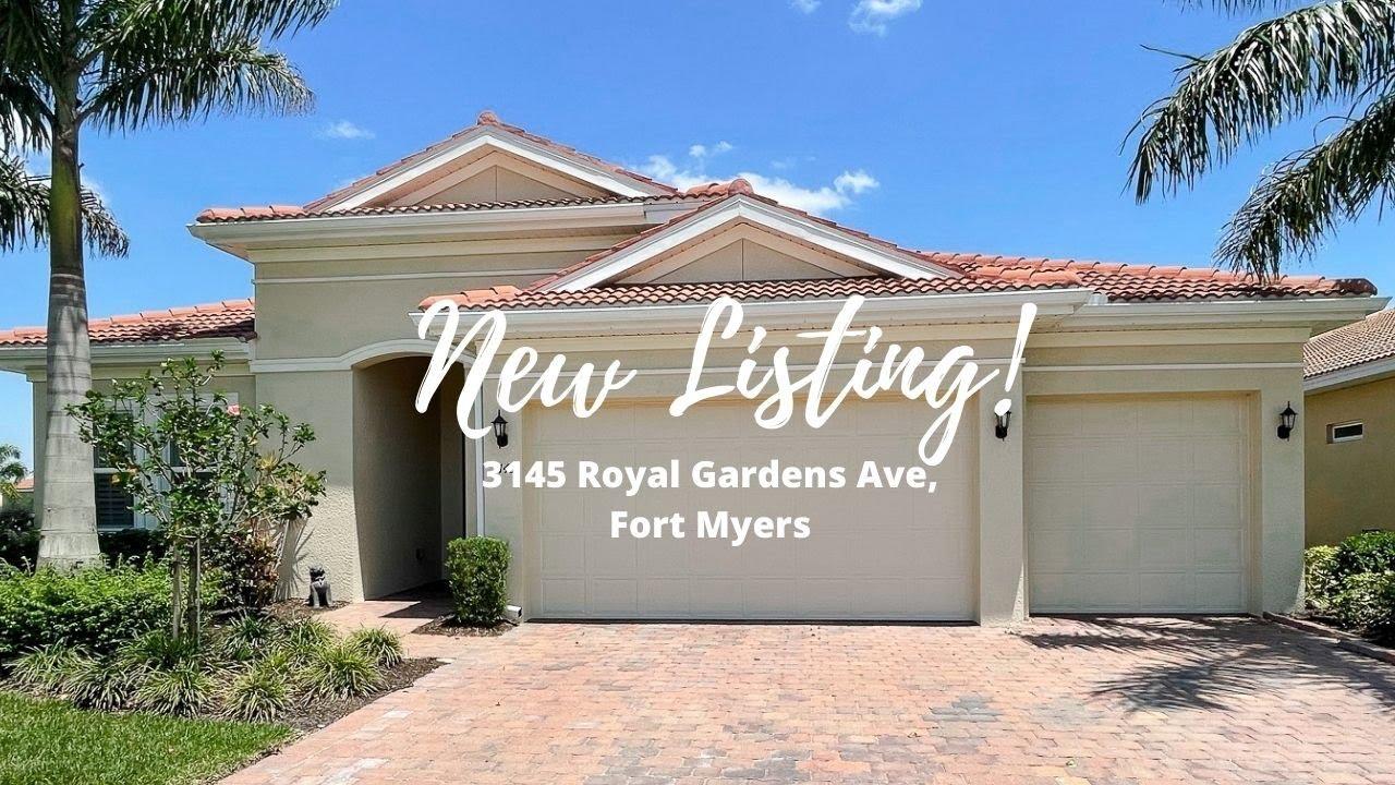 3145 Royal Gardens Avenue Fort Myers, FL 33916