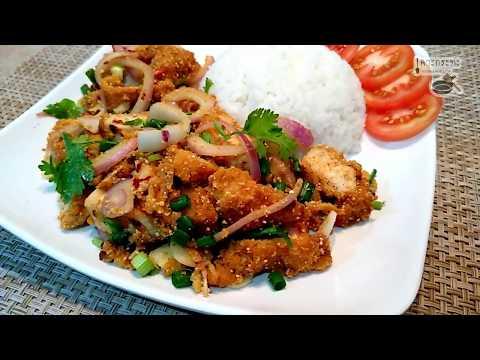 ข้าวยำไก่แซ่บ เมนูขายดีจากร้านดัง และยังเป็นเมนูขายดีตามตลาดนัดอีกด้วย อร่อยแซ่บ ทำง่ายมากกก