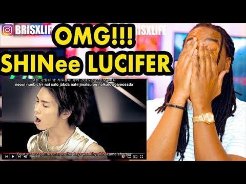 SHINee 샤이니 'Lucifer' MV | FREAKING AMAZING!!! | REACTION!!!