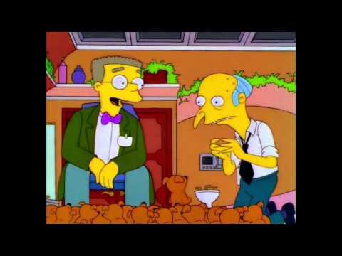 Mr Burns and Rory Calhoun