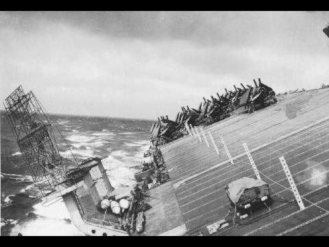 Hạm Đội 3 Mỹ Bị Xóa Sổ Bởi Siêu Bão Biển Đông