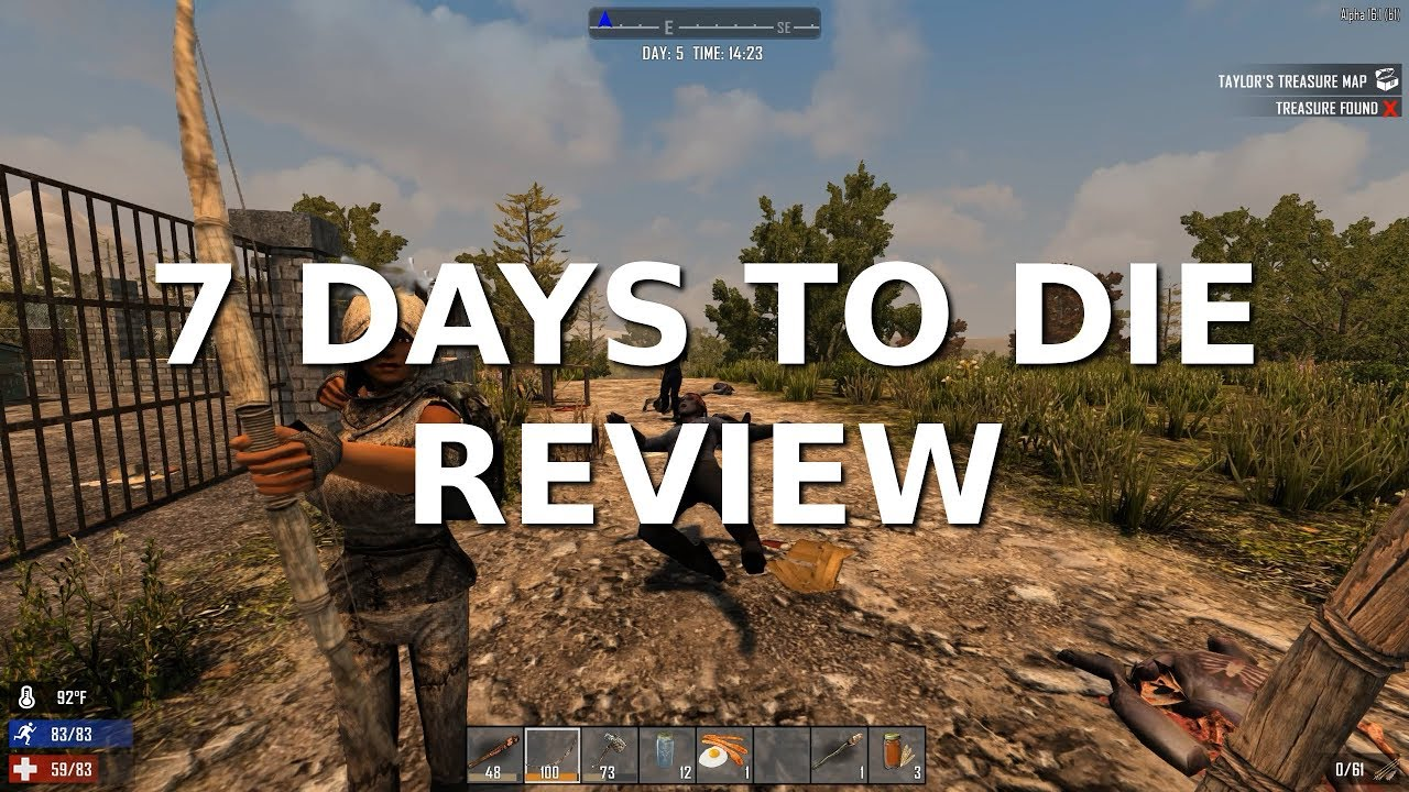 7 days to Die Xbox One Version Rant! - YouTube