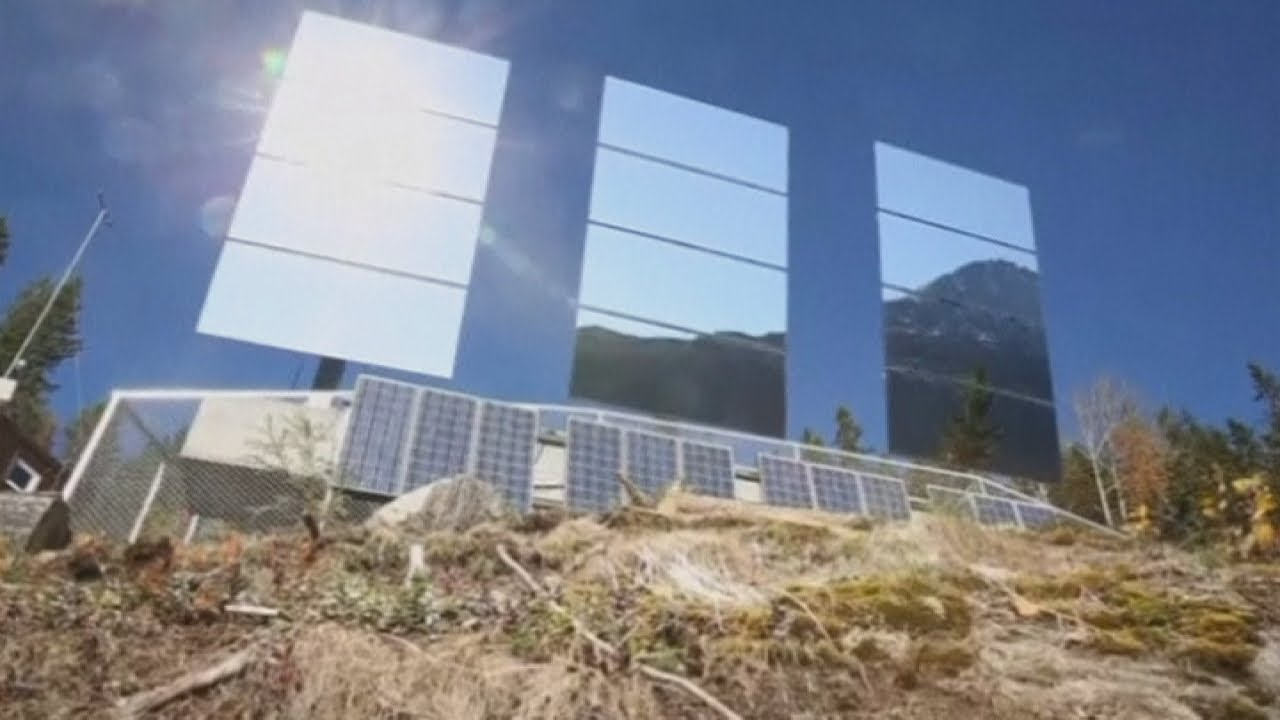 Giant Mirrors Reflect Sunshine Into Dark Norway Town Of
