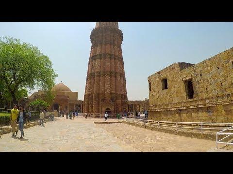 India Day 8, Qutub Minar, New Delhi Metro