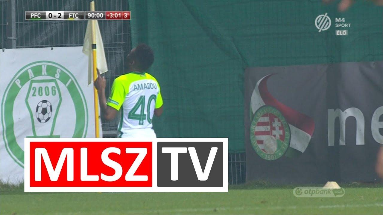 Moutari Tidjani Amadou gólja a Paksi FC  – Ferencvárosi TC mérkőzésen