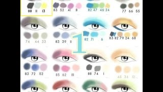 MAKEUP FOR BLUE GREY EYES #1 (TUTORIALS) - FROM PICTURES