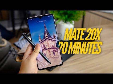 รีวิว Huawei MATE 20X แบบไทยไทย | สนิทกับเจ้าจอใหญ่ใน 20 นาที - วันที่ 21 Nov 2018