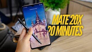 รีวิว Huawei MATE 20X แบบไทยไทย | สนิทกับเจ้าจอใหญ่ใน 20 นาที