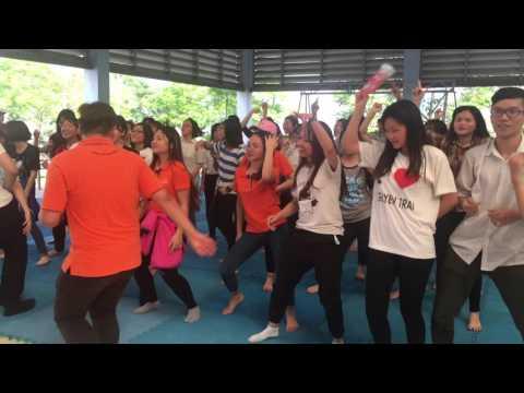 Học sinh Chuyên Thái Bình, Chuyên Nguyễn Trãi & Thái Phiên HP quẩy tưng bừng cùng SV ĐH FPT