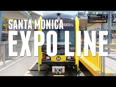 The New Santa Monica Expo Line: Why Everyone is Pumped About It