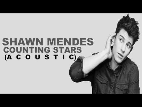 Shawn Mendes -Counting Stars- (Acoustic cover) (Lyrics)