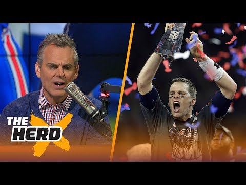 Colin Cowherd on the BradyBelichick legacy, Gronk's 1game suspension  THE HERD