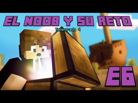 ENCONTRAMOS EL TESORO! E6 El Noob y su Reto 4 - Luzu