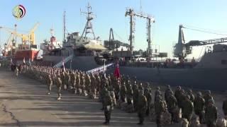 القوات المصرية والأردنية تنفذ المناورة العسكرية المشتركة 'العقبة 2016'.. فيديو