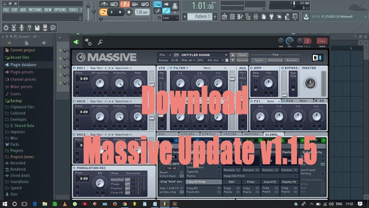 fl studio massive vst free download